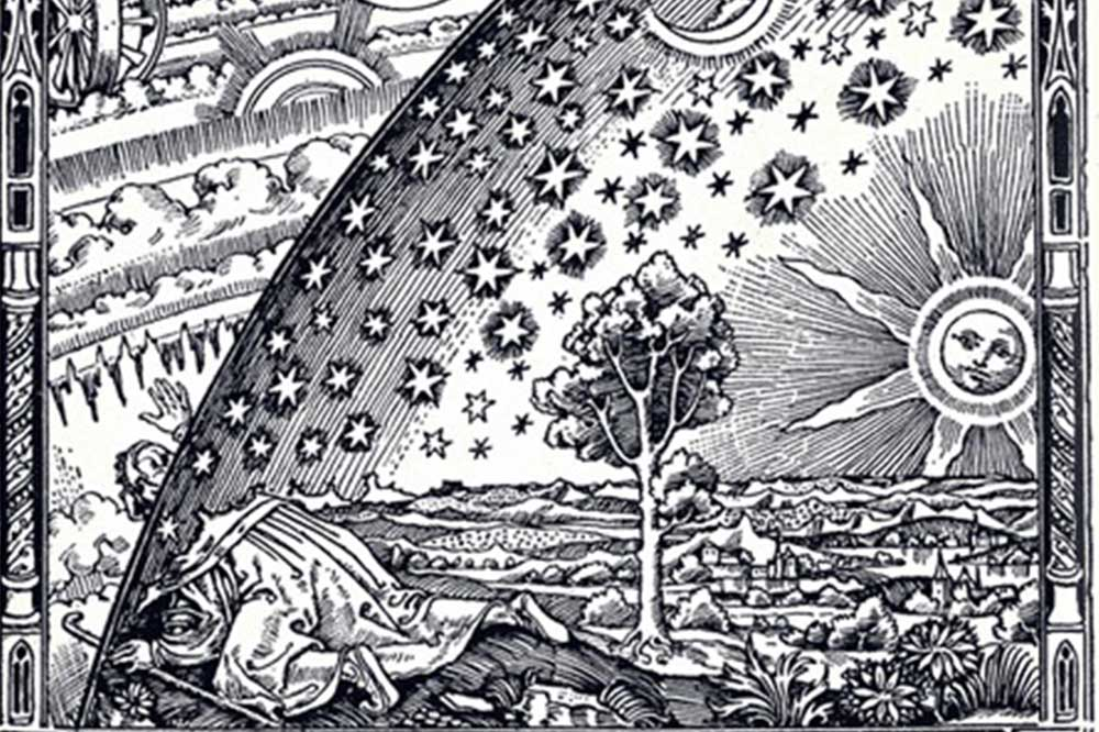 Weltbild nach Ptlolemäus