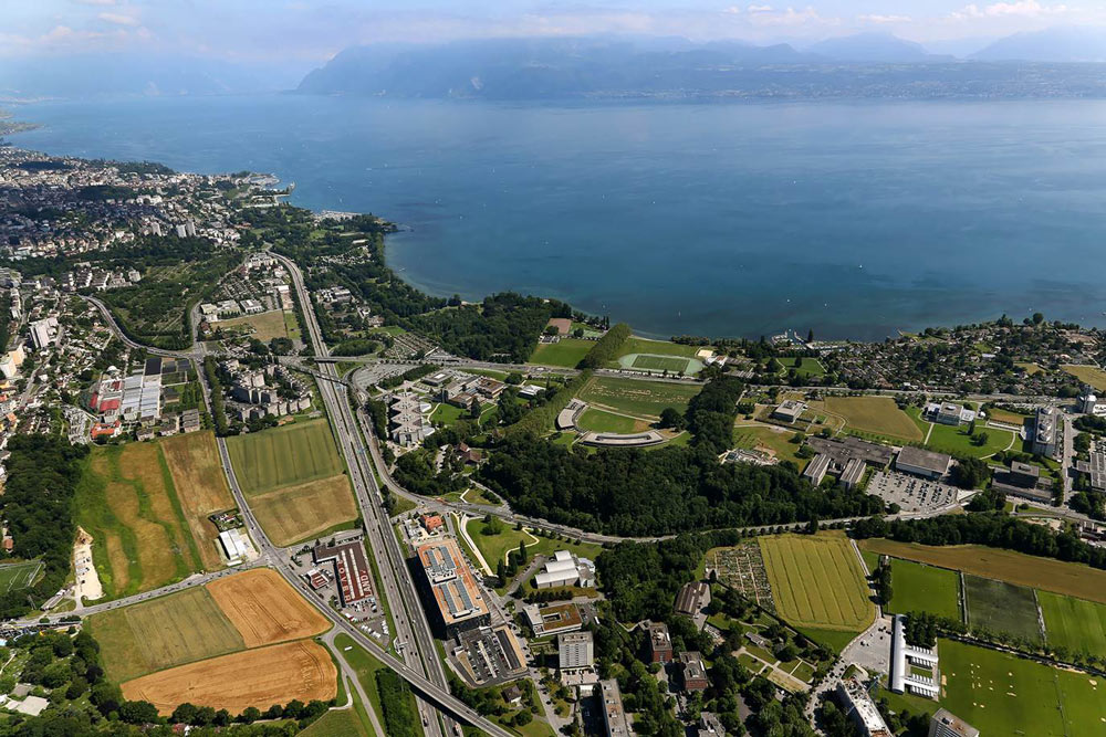 Campus der Universität Lausanne