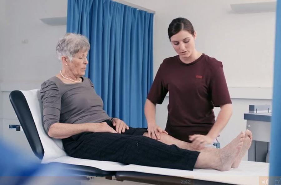 Physiotherapeut/in FH  (BSc) – Film mit Porträts von Berufstätigen