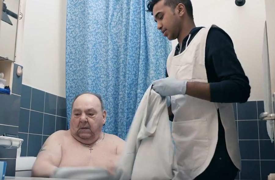 Fachmann/Fachfrau Gesundheit EFZ – Film mit Porträts von Berufstätigen
