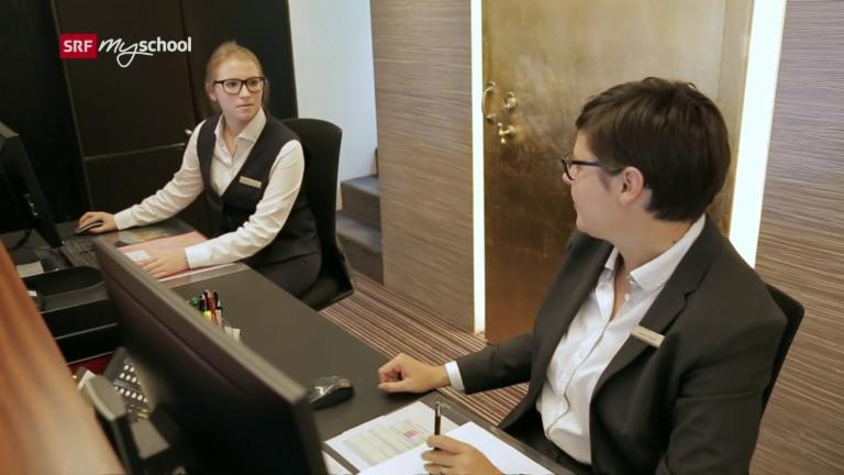 Employé / Employée de commerce (Hôtellerie-Gastronomie-Tourisme) CFC - Film avec portrait d'un professionnel