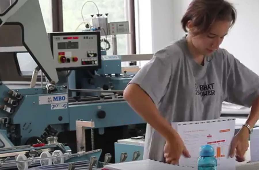 Printmedienverarbeiter/in EFZ – Film mit Porträts von Lernenden