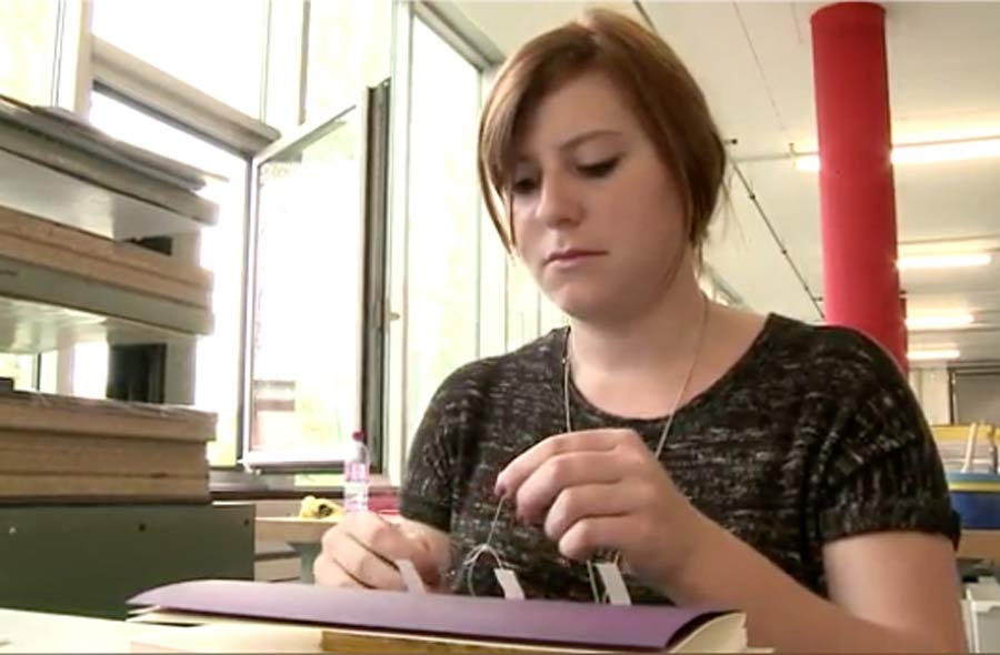 Printmedienverarbeiter/in EFZ – Film mit Porträts von Berufstätigen