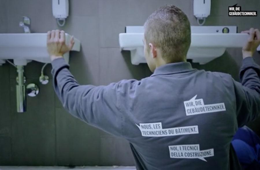 Sanitärinstallateur/in EFZ – Porträt eines Berufstätigen