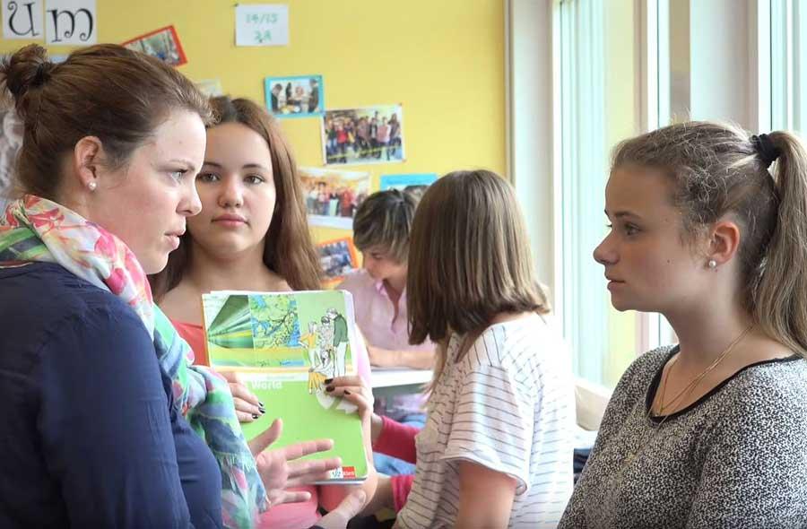 Lehrer/in Sekundarstufe I PH/FH/U - Film mit Porträts von Studierenden