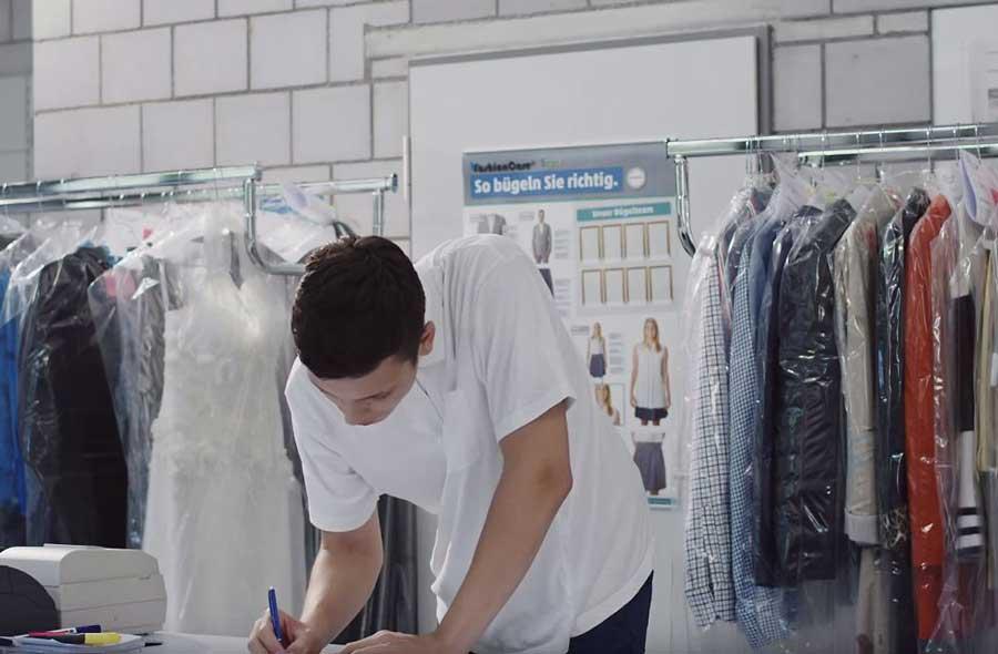 Fachmann/Fachfrau Textilpflege EFZ – Film mit Porträts