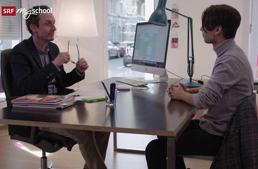 Das Bewerbungsgespräch – Thematischer Film