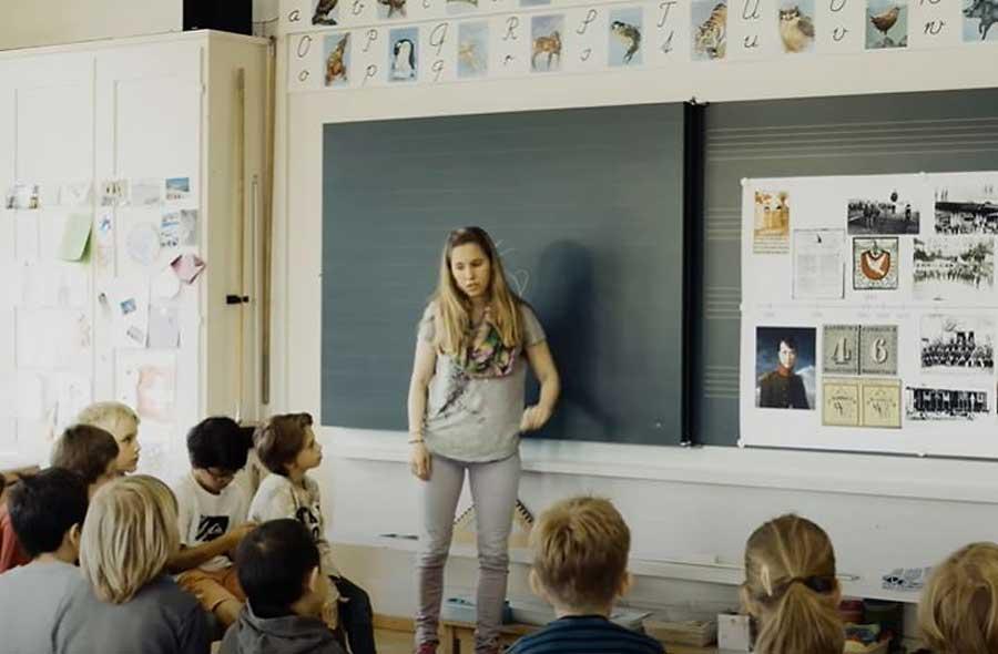 Lehrer/in für die Primarstufe - Film mit Porträts von Berufstätigen