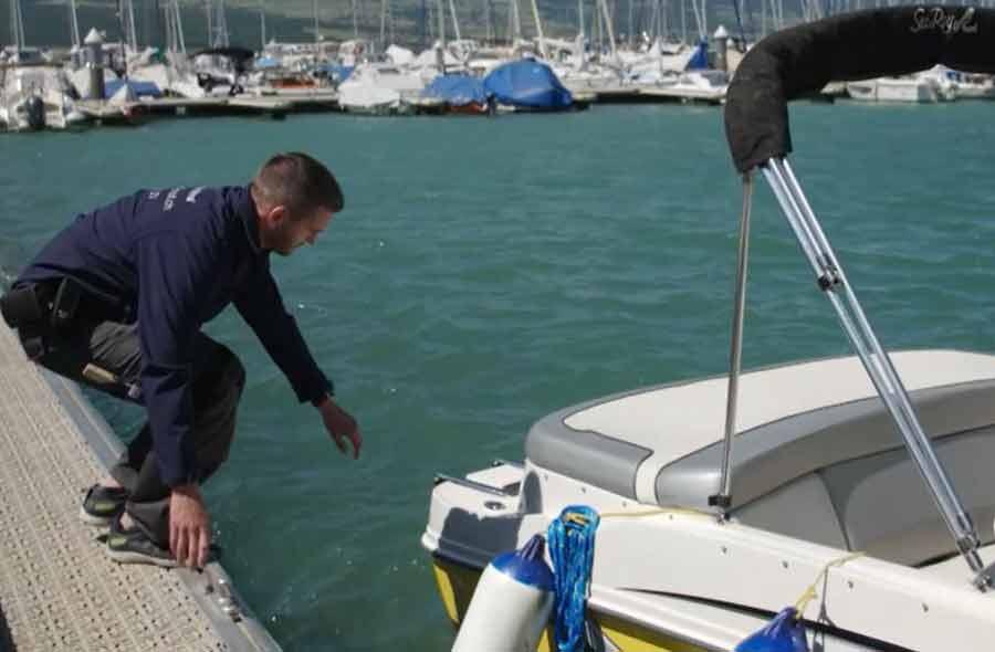 Bootfachwart/in EFZ – Film mit Porträt eines Lernenden