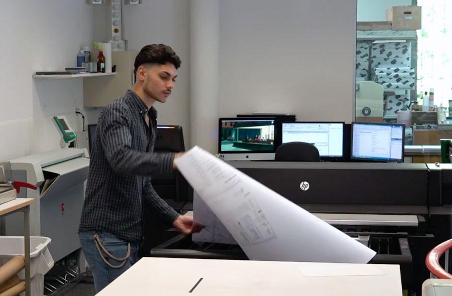 Tecnologo/a dei media AFC indirizzo tecnica printmedia