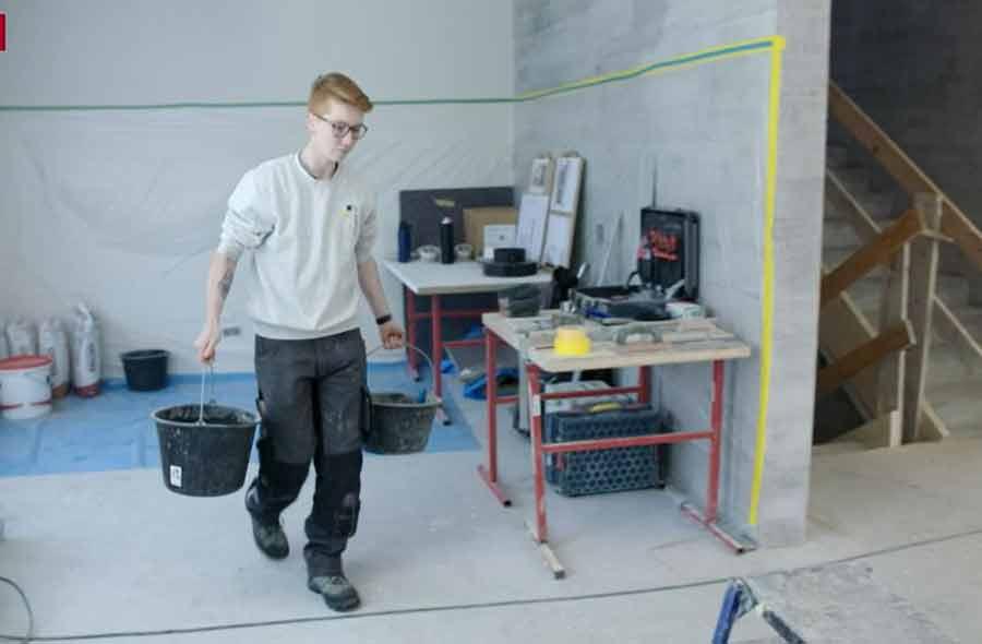 Ofenbauer/in EFZ – Film mit Porträt einer Lernenden